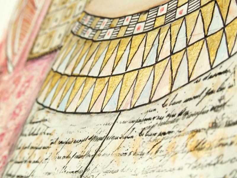 inspi Klimt - détail 01