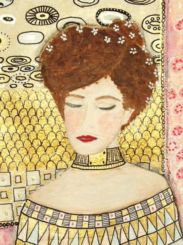 inspi Klimt - détail 03