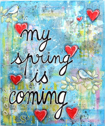 my spring is coming