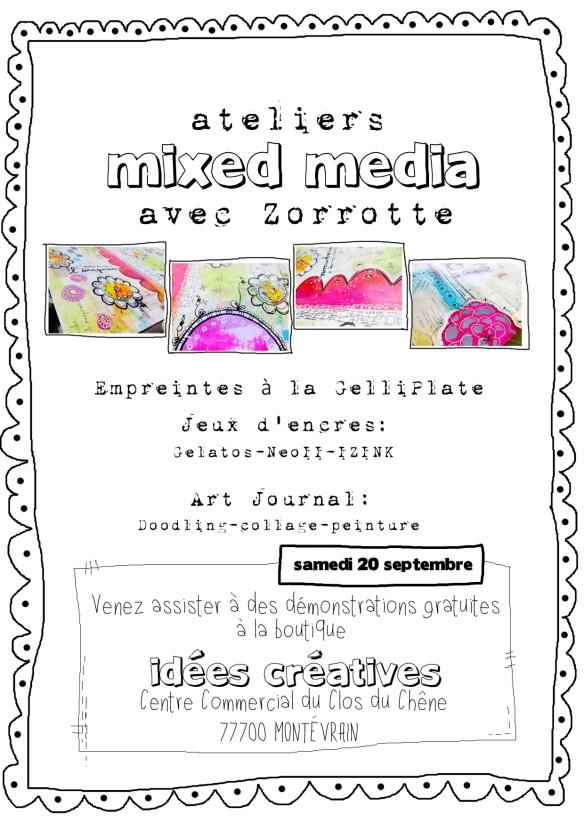 affiche A4 démo Idées Créatives